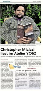 Christopher Mlalazi