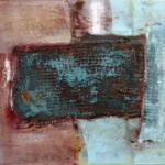 Ohne Titel, 60 x 50-cm, Öl auf Lw. – © VG Bild-Kunst, S. Thatje-Körber