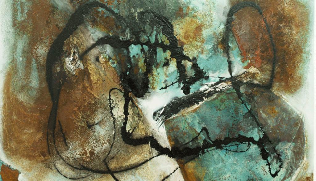 Richtungsweisend, 80-x-60-cm, Öl auf Lw. – © VG Bild-Kunst, S. Thatje-Körber